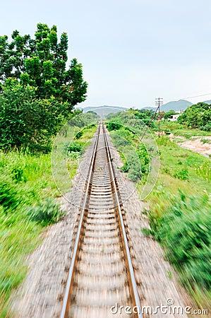Movement of Thai railway