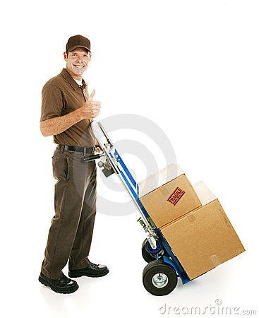 Free Mover Gives Thumbs Up Stock Photography - 11829392