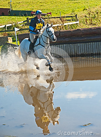 Movern Griffiths riding Mr Brightside at Burgie Editorial Image