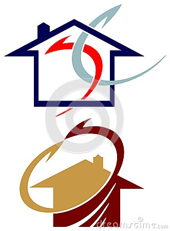Movers logo set
