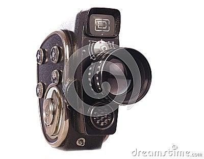 Movie camera;