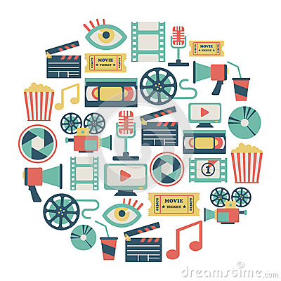Free Movie Card Royalty Free Stock Photo - 33335915