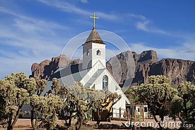 USA, Arizona/Apache Junction: Movie Chapel