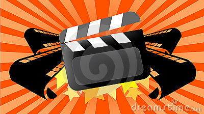 Movie cinema background