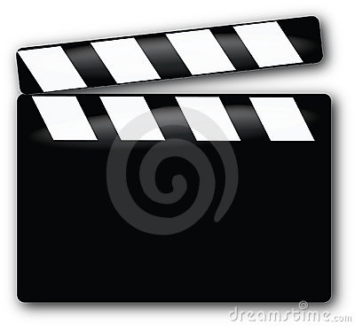 Free Movie Clapboard Royalty Free Stock Image - 11610736