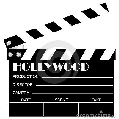 Free Movie Clapboard Royalty Free Stock Photos - 1630808