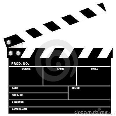 Free Movie Clapboard Stock Image - 1630811