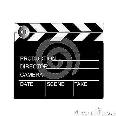 Movie clip board