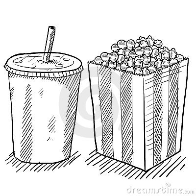 Movie Concession Stand Clipart Movie-concessions-drawing- ...