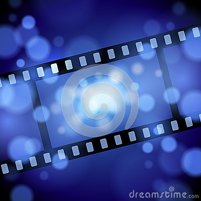 Free Movie Film Background Royalty Free Stock Photo - 42639665