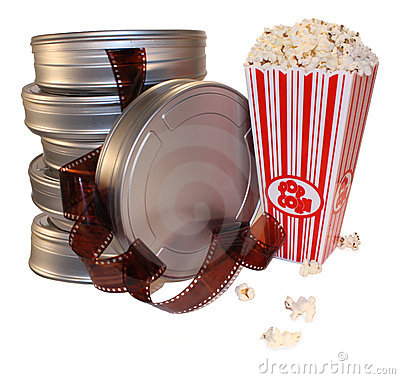 Free Movie Film Canisters Stock Photo - 13081920