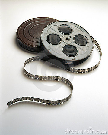 Movie film Reel & Can