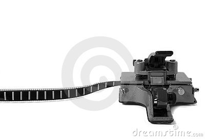 Movie Film Splicer 3 (black and white)