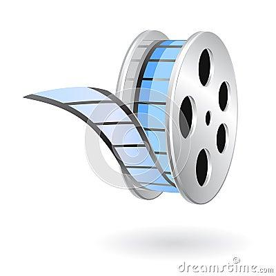 Free Movie Film Strip Reel Royalty Free Stock Photography - 14118907