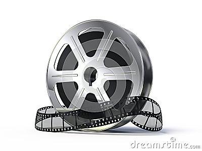 Movie films spool