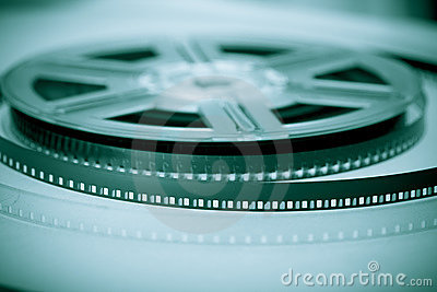 Movie industry symbol - Film reel
