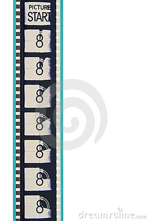 Free Movie Leader Film Strip Royalty Free Stock Images - 1433329
