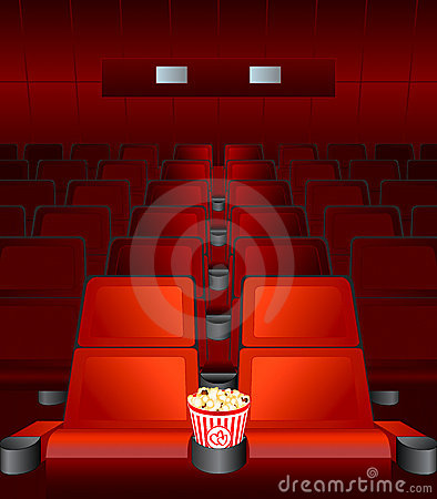 Free Movie Love-seat Stock Photography - 3825702