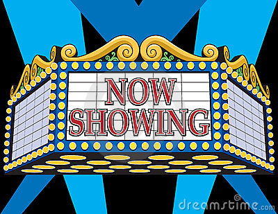 Movie Marquee Photo | SpiderPic Royalty Free Stock Photos