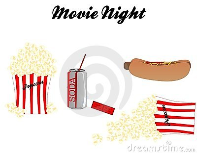 Movie Night with all the trimmings..