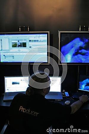 Free Movie Producer Royalty Free Stock Photography - 1612787