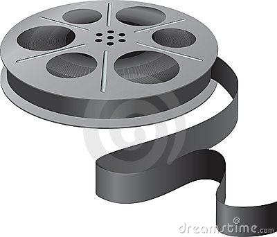 A movie reel
