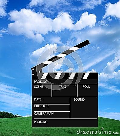 Free Movie Slate Stock Photo - 10060540