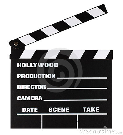 Movie slate board