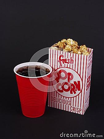 Free Movie Snacks Royalty Free Stock Photos - 4465968