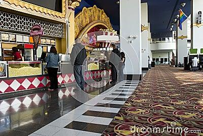Movie theater Food Bar