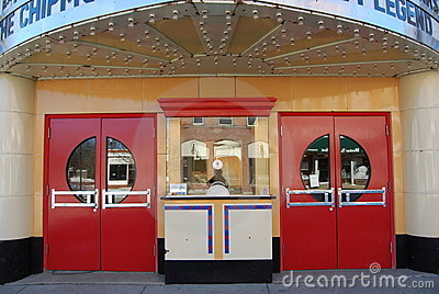 Movie Theater Ticket Booth