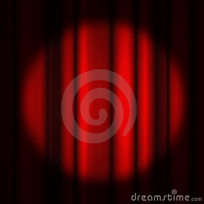 Movie or theatre curtain