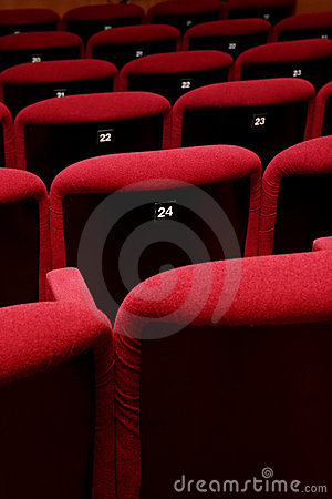 Free Movie Theatre Empty Stock Images - 690064