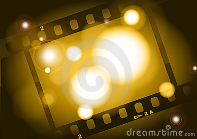 Movies film light background