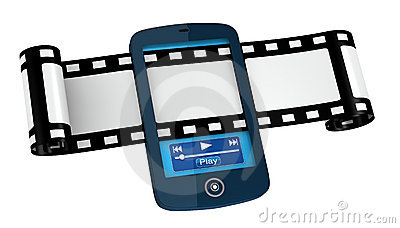 Movies and photos on portable device