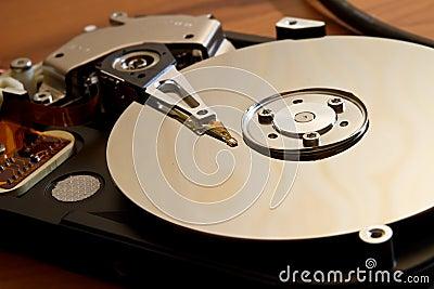 Movimentação de HDD