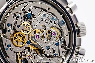 Movimento moderno do relógio