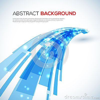 Free Moving Blue Abstract Background Royalty Free Stock Photo - 33528165
