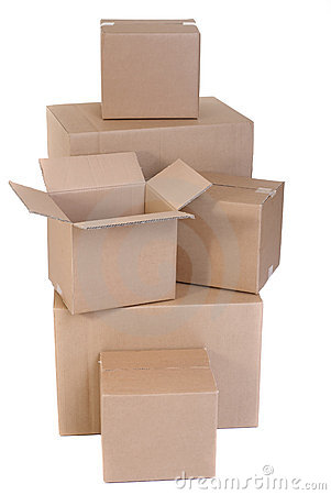 Free Moving Boxes Stock Photos - 3175293