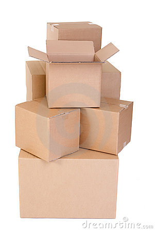 Free Moving Boxes Stock Image - 6434471
