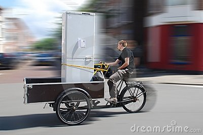 Moving By Cargo Bike