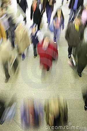 Free Moving Crowd Abstract Stock Images - 2187264