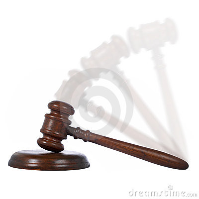 Moving gavel