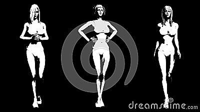 Massive boobs naked models