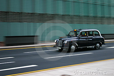 Moving London Taxi