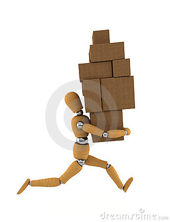 Free Moving Rush Stock Images - 6847824