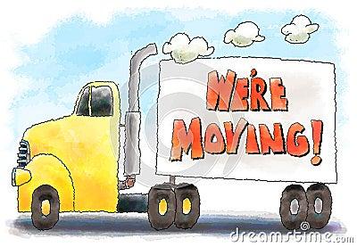Clip Art Moving Truck Clip Art cartoon moving truck stock illustrations 515 vectors clipart dream