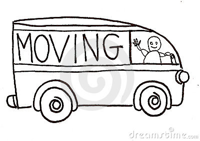 Moving Truck Vector