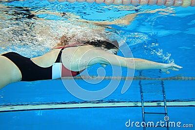 Moving underwater