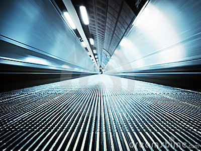Moving Walkway, London